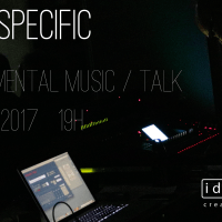 Site Specific – Experimental Music / Talk. May 27th, 19.00