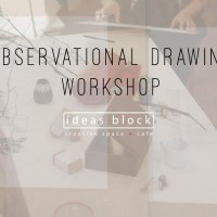 Observation Based Drawing Workshops with Paul Takahashi, every Sunday at 18.00