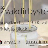 Candle-making Workshop at Ideas Block, 6th of December, 19.00