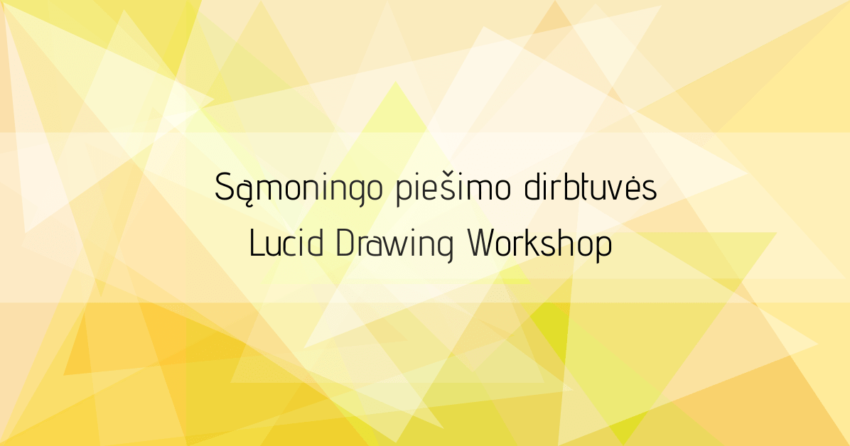 Lucid drawing workshop at Ideas Block