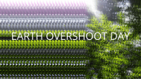 Earth Overshoot Day, 1st of August, 19.00