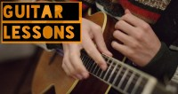 Guitar Lessons, Start of the course - 22 of February, 19.00
