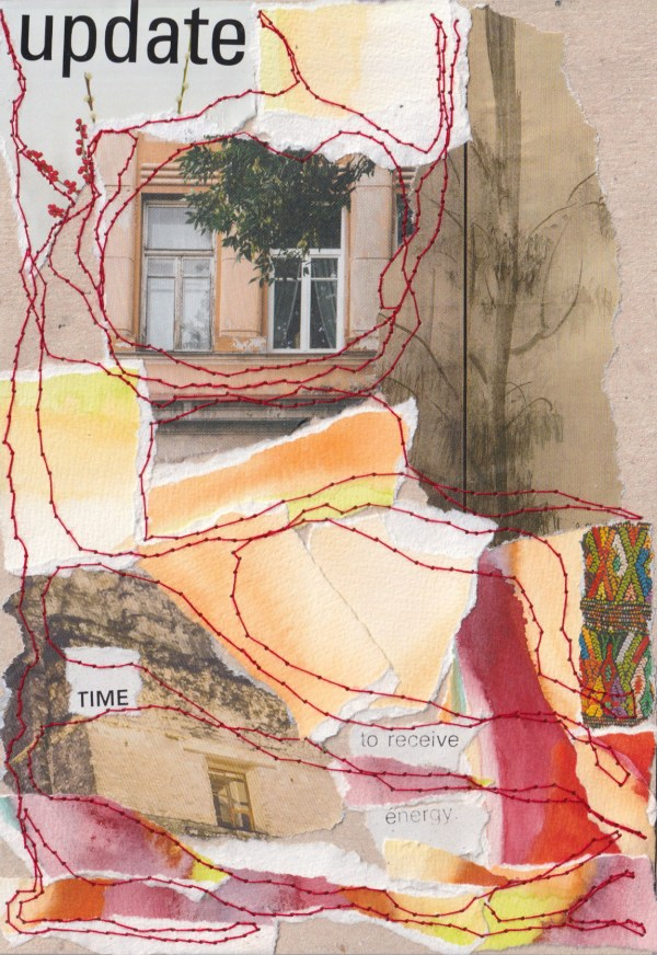 Liucija Dervinyte mixed media collage