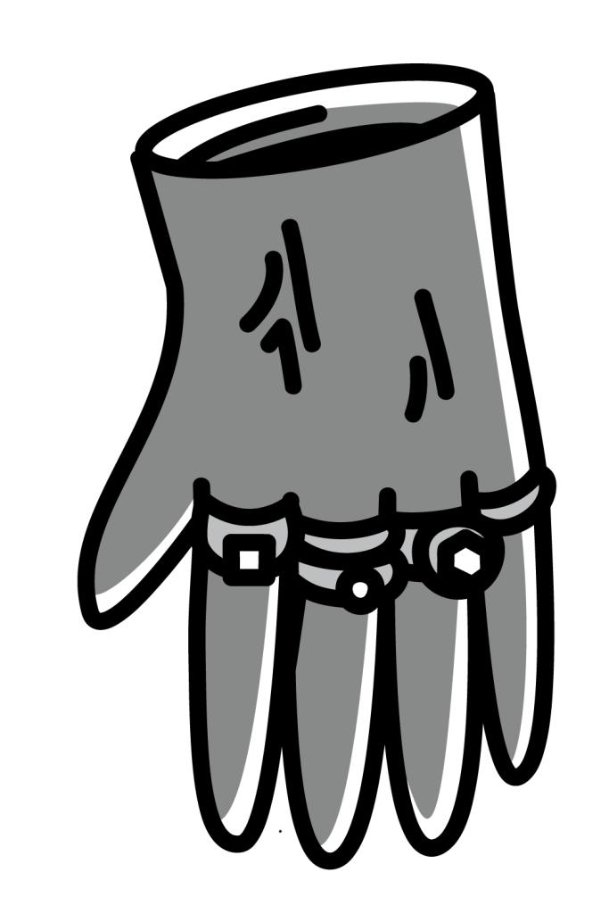 Tomas Rybar Pimp Glove graphic artwork