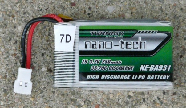 Turnigy 750 Battery