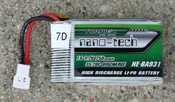 Turnigy 750 Battery