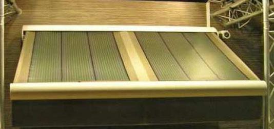 toldo fotovoltaico