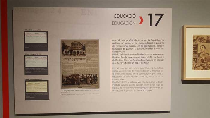 exposición en València