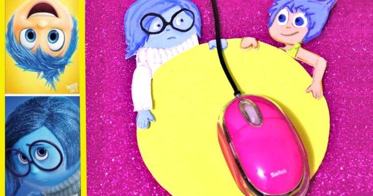 Alfombrilla para ratón de goma Eva de Inside Out