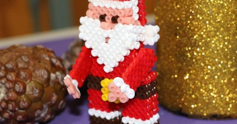 Hama en 3D: Papa Noel