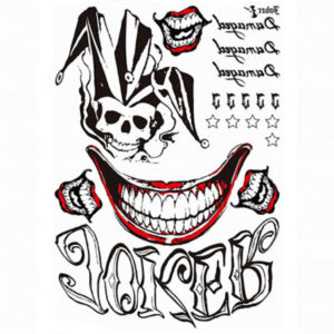Como Hacer Tatuajes Temporales Tatuaje De Joker Y Harley Quinn En