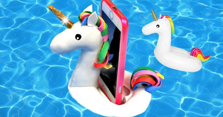 Flotador de Unicornio para el Móvil o celular