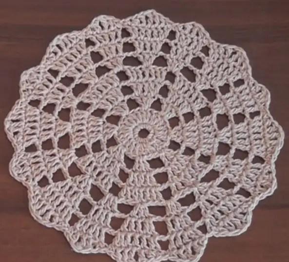 Easy Crochet Tablecloth Patterns For Beginners Viewkaka