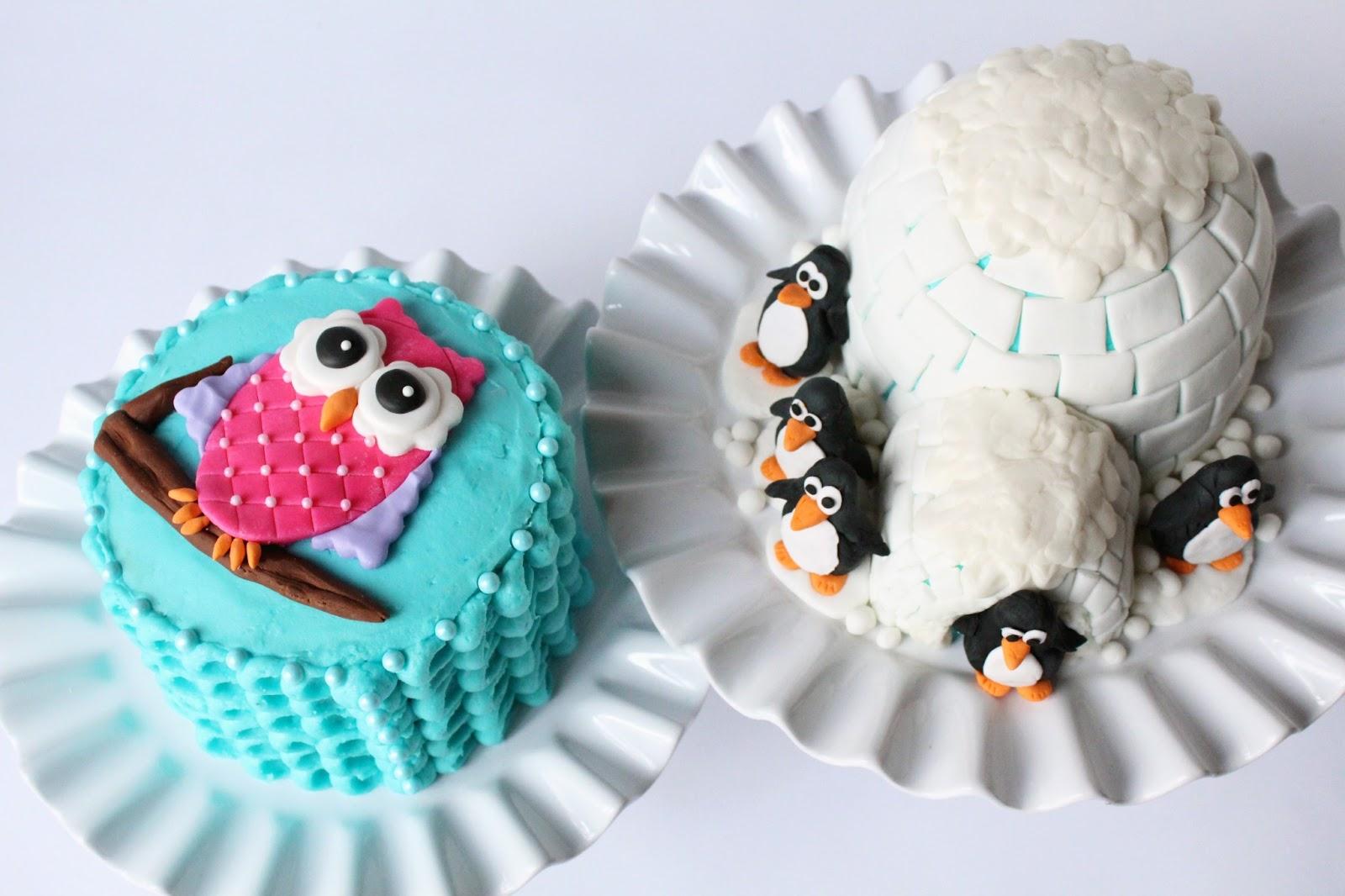 Cute Owl Cake Ideas