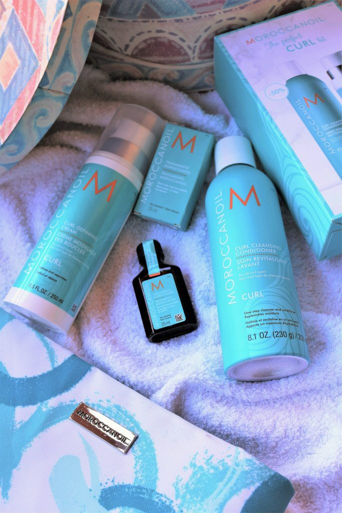 Método Curly Girl Hair y el kit Moroccanoil