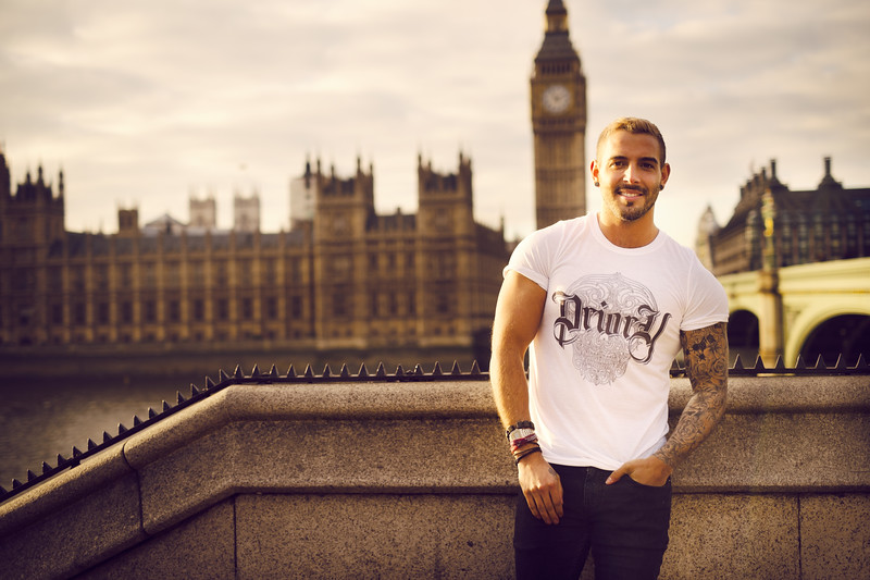 Photographed for The Priory Clothing Label