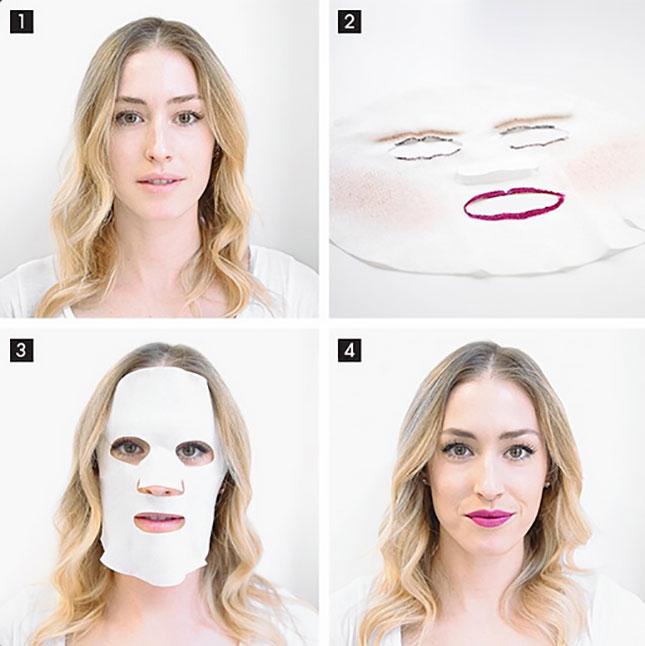 A Full Face Makeup Mask April Fool S