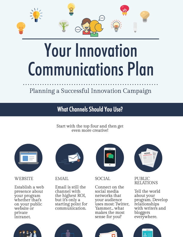 infographic: your innovation communications strategy - ideascale