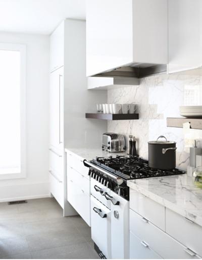 decoracin de cocinas blancas