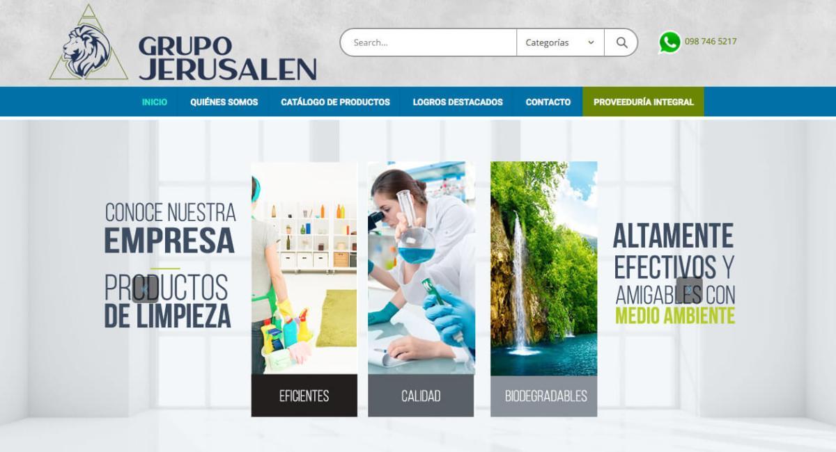 El comercio electrónico que usa Grupo Jerusalén