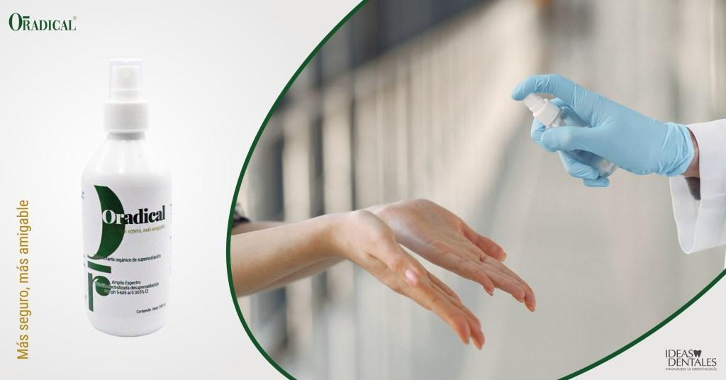 Desinfectante y antiséptico Oradical