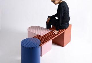 Mobiliario de diseño modular