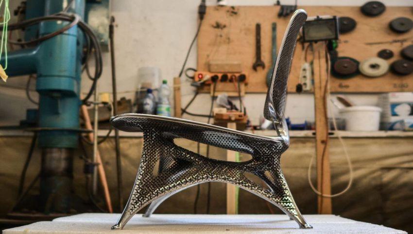 Aluminium Gradient Chair