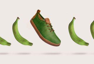 Zapatos fibra plátano