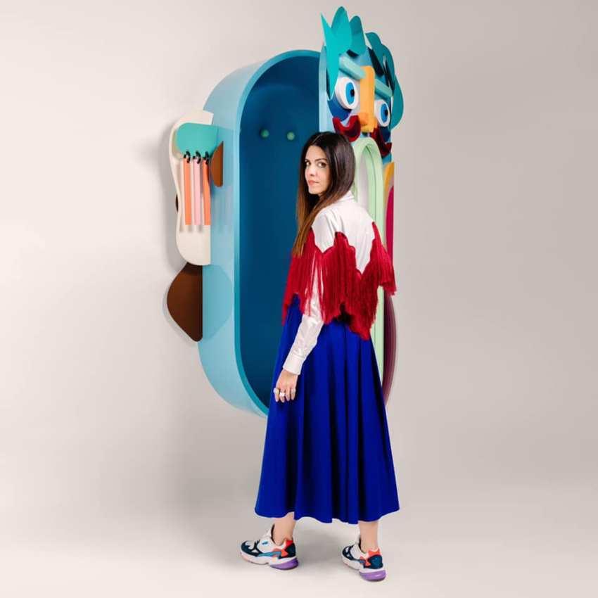 Diseñadora Elena Salmistraro