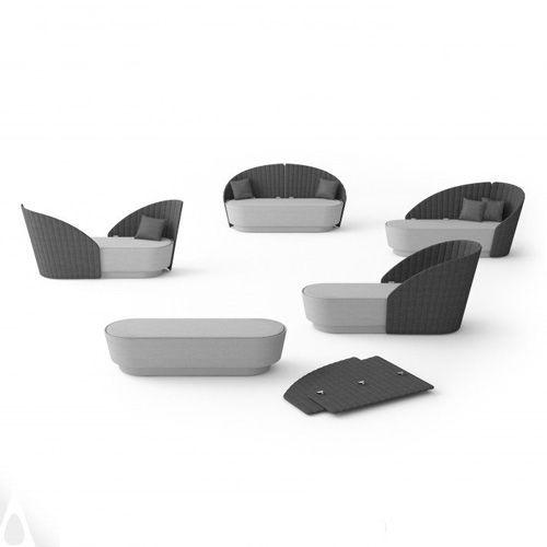 Sofá Shell diseñado por Alexey Danilin