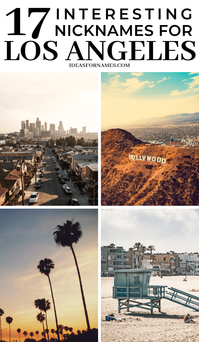 17 Interesting Nicknames For Los Angeles That May Surprise You #losangeles #la #visitla #discoverla #lostinla #nicknames #cityofangels