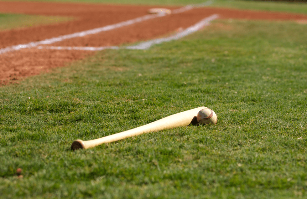 Funny Baseball And Softball Team Names That Are Sure To Be A Hit, baseball bat with first base