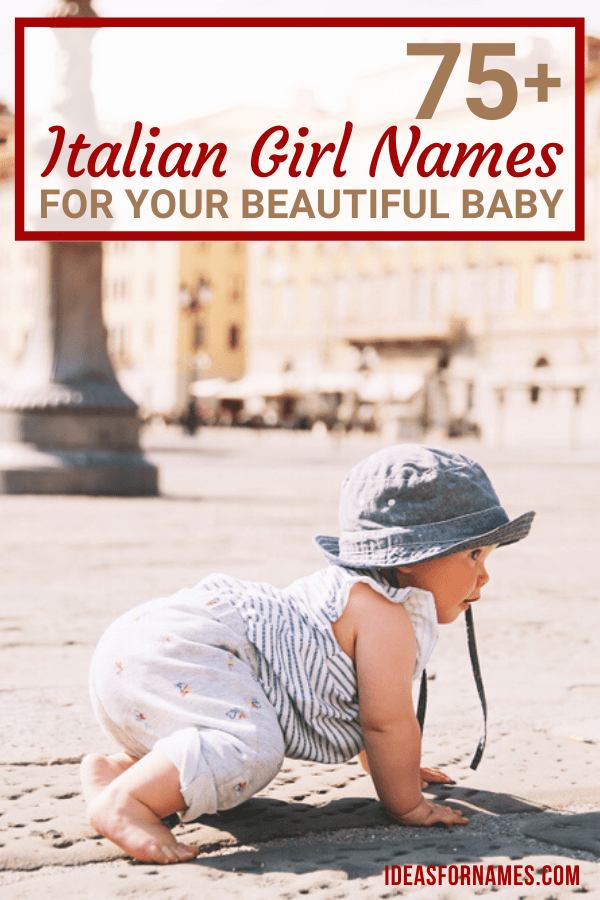 Best Italian Girl Names (With Meanings) For Your Beautiful Baby, Popular and Unique Italian Names for Daughter #babynames #girlnames #girlbabynames #italiannames #italianbabynames #italianbaby #italiangirl