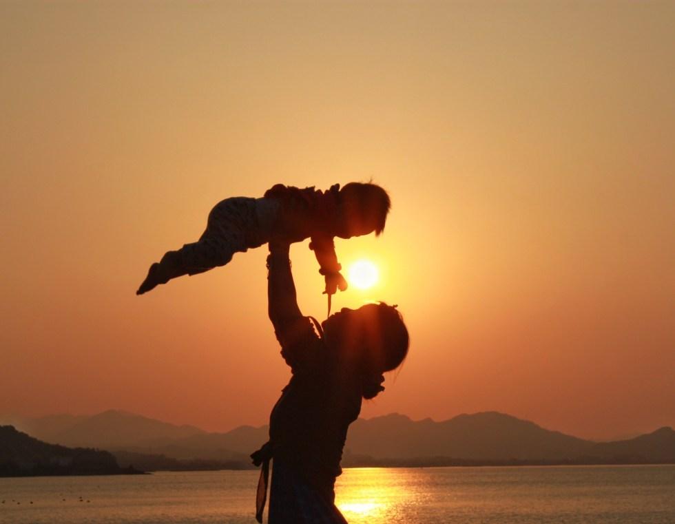 baby sunset