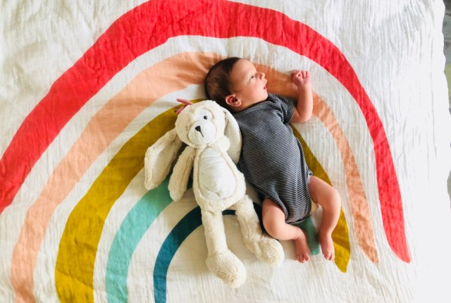 colorful, rainbow names for baby