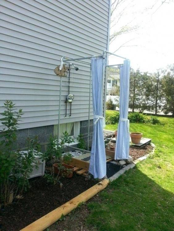 outdoor rv shower curtain