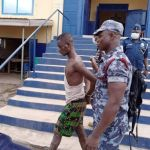 C/R: 27-year-old notorious armed robber beaten to pulp at Assin Fosu