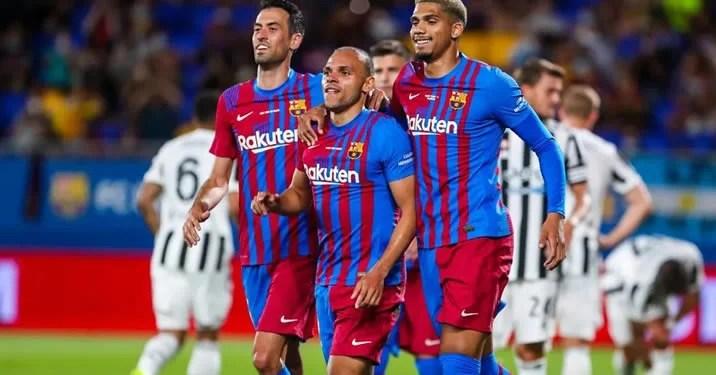 Barcelona beat juventus without messi 3