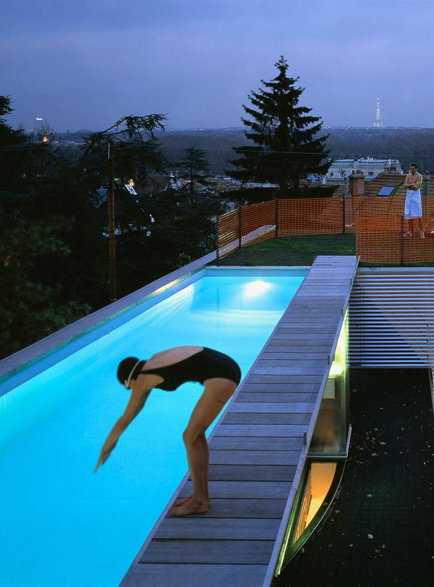 Floating Pool Dream House