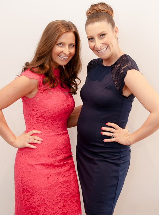 Nikki and Rachael - founders of Priority CPR and Tiny Hearts First Aid
