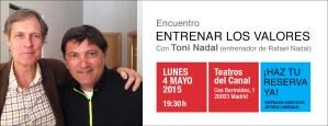 Conferencia Toni Nadal