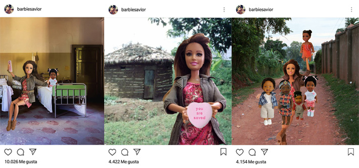 Voluntarismo Barbie Savior