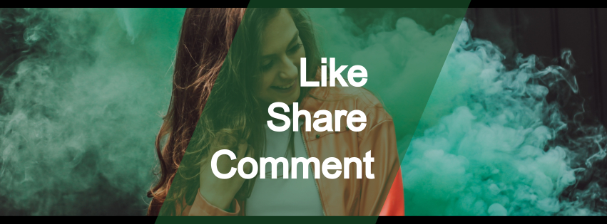 like comment share - action