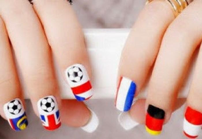 Cómo Pintarse Las Uñas Para El Mundial Rusia 2018 Ideas Nuevas