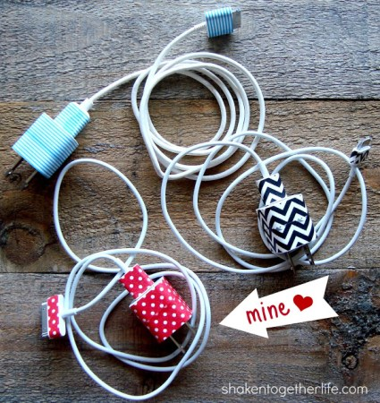 washi tape iphone chargers final