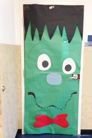 Halloween decoración puertas F