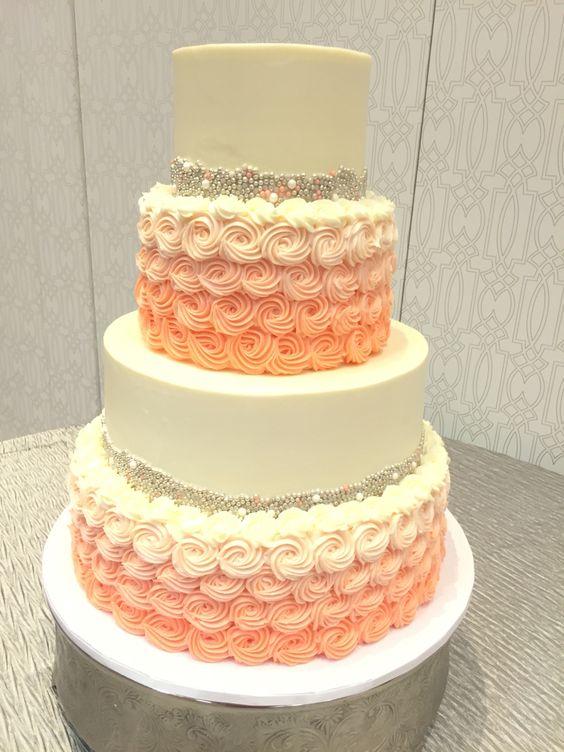 Teal Green Wedding Cakes
