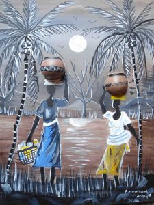 13. African Women in the Woods