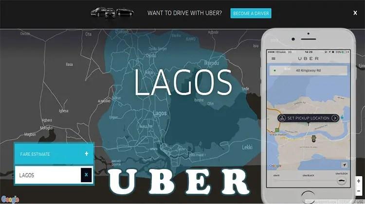 Uber Lagos Nigeria