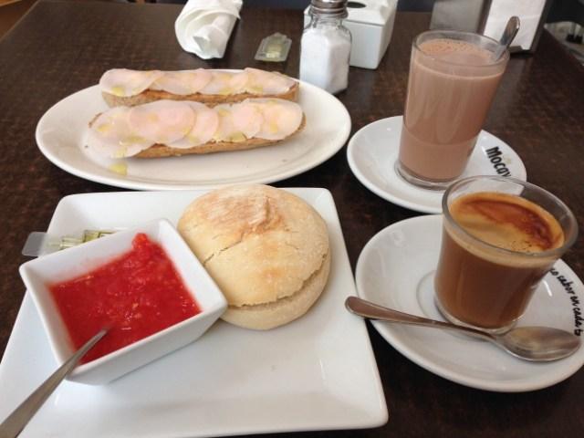 desayuno tranquilo